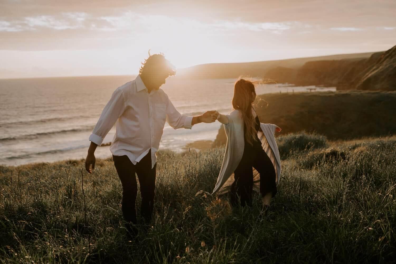 Australian Intimate Wedding and Elopement Photographer Mornington Peninsula Engagement Session